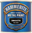 Hammerite Smooth Finish Metal Paint Standard Colours 750ml